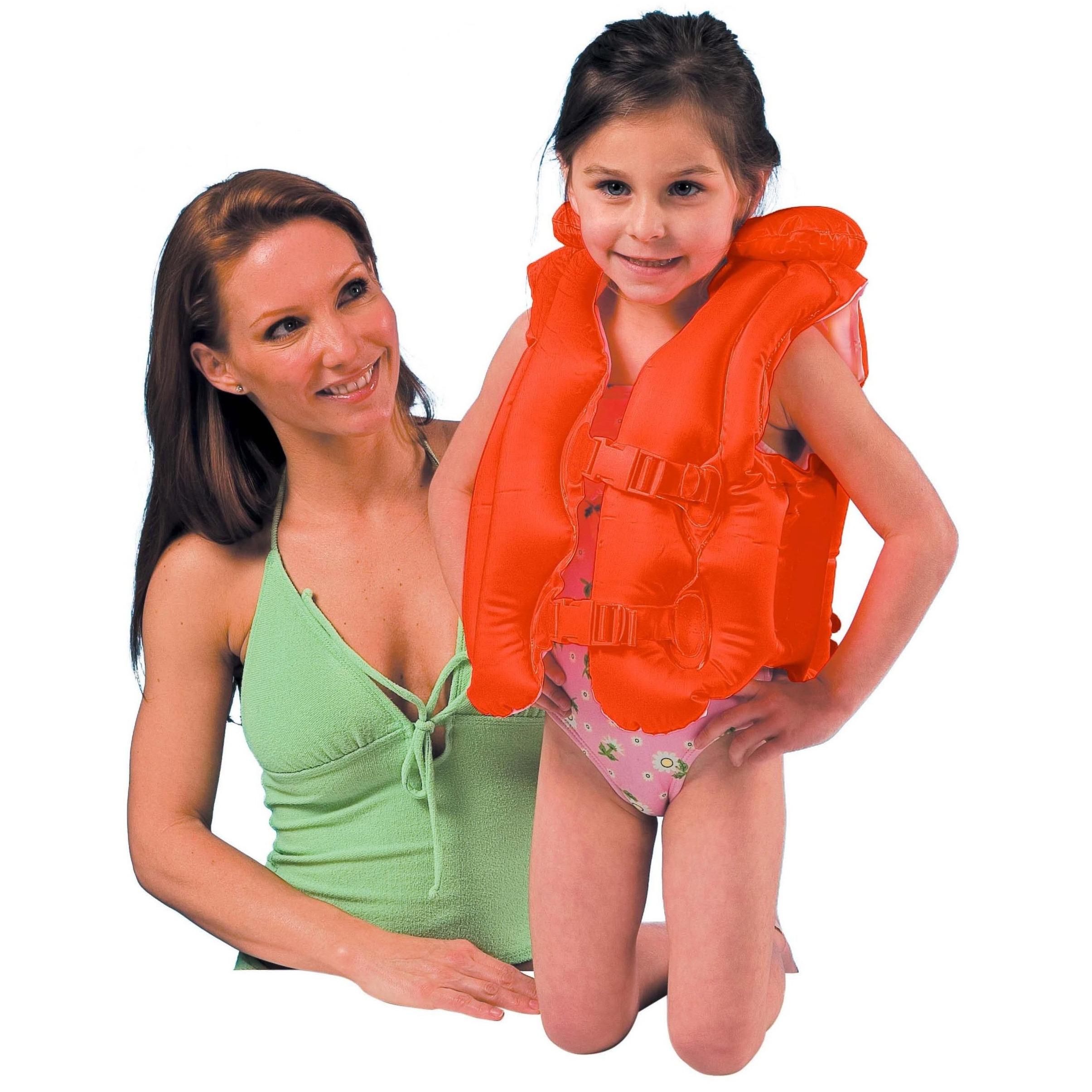 Oranje zwemvest voor kinderen -