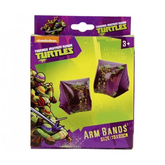 Paarse Ninja turtles zwembandjes -