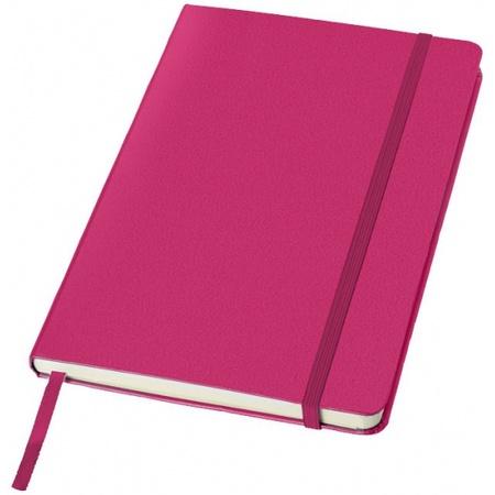 Luxe schriften A5 formaat met roze harde kaft bestellen? | Shoppartners.nl
